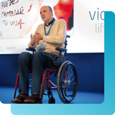 La vida no se acaba en una silla de ruedas